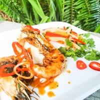 Head On Shrimp with Chili-Garlic, Brown Sugar & Shallot