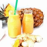 Tropical Tumeric Ginger Smoothie