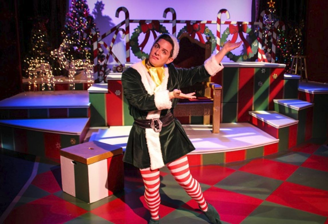 Crumpet The Elf Comes To Norfolk In The Santaland Diaries
