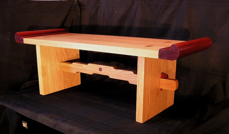Wedged Mortise And Tenon Table