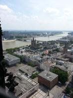 This year I could even climb on top of the Cologne Cathedral! J'i même pu monter au somment de la cathédrale de Cologne !