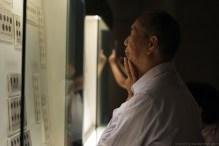 numismatist in Shanghai Museum