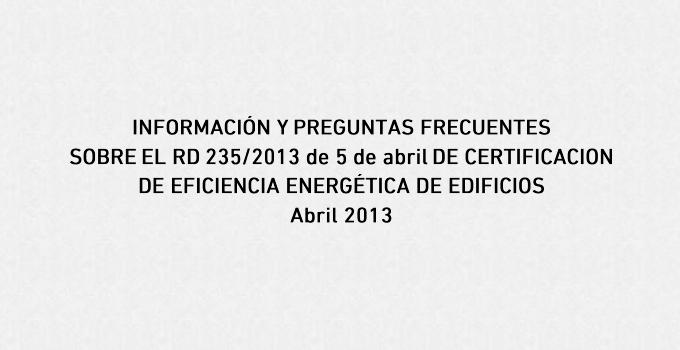 informacion certificacion energetica