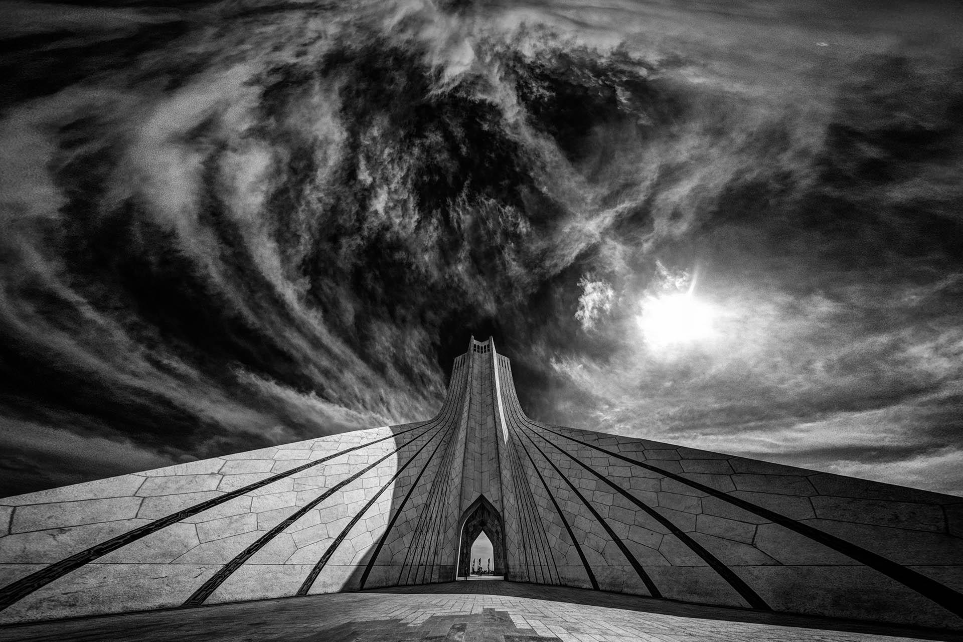 La arquitectura simtrica ante la fotografa