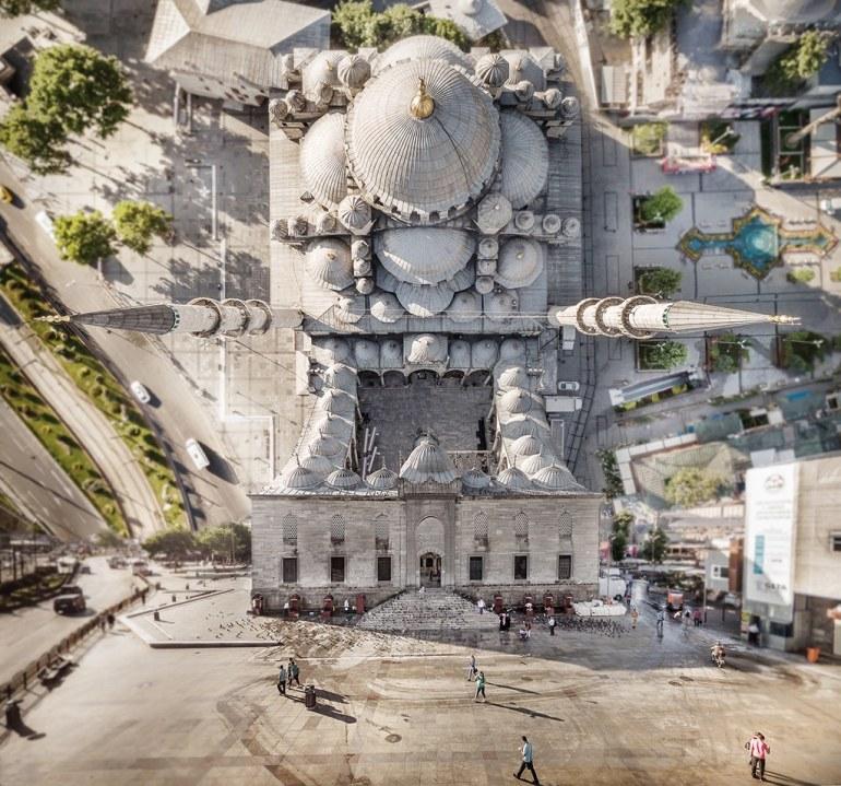 arquitectura de Esbambul y su ciudad