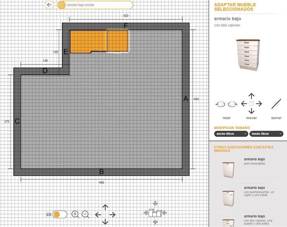 disenador planta de cocina gratis On disenador de cocinas online gratis