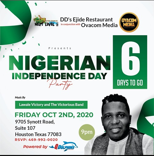 Nigerians in the Diaspora To Celebrate Nigeria's Independence @ 60