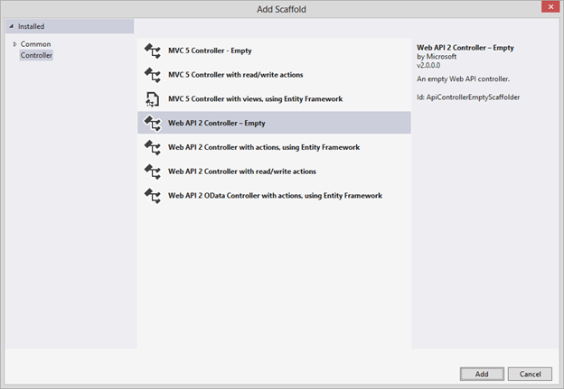 Adding Queryable Support to ASP.NET Web API Controller Action Methods (4/6)