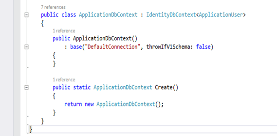 Extending and Customizing authentication mechanism in Web Applications using ASP .NET Identity (4/6)