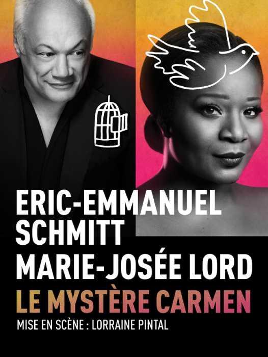 Eric Emmanuel Schmitt Marié Avec : emmanuel, schmitt, marié, Mystère, Carmen, Culture, Trois-Rivières