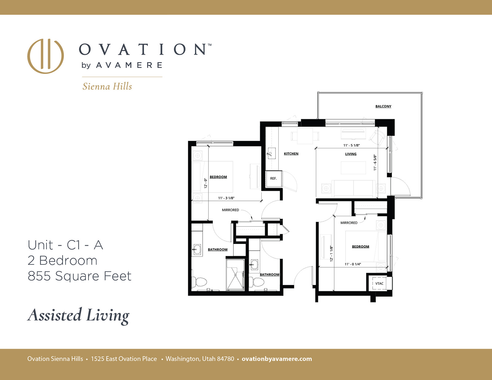 Assisted Living | Two Bedroom | Limited Availability