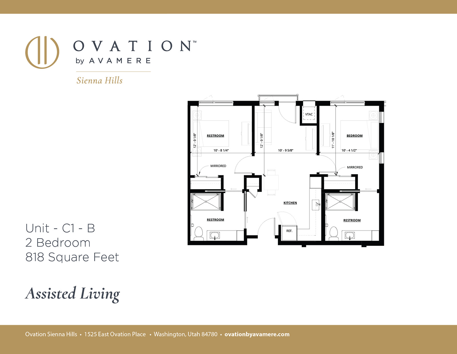 Assisted Living | Two Bedroom