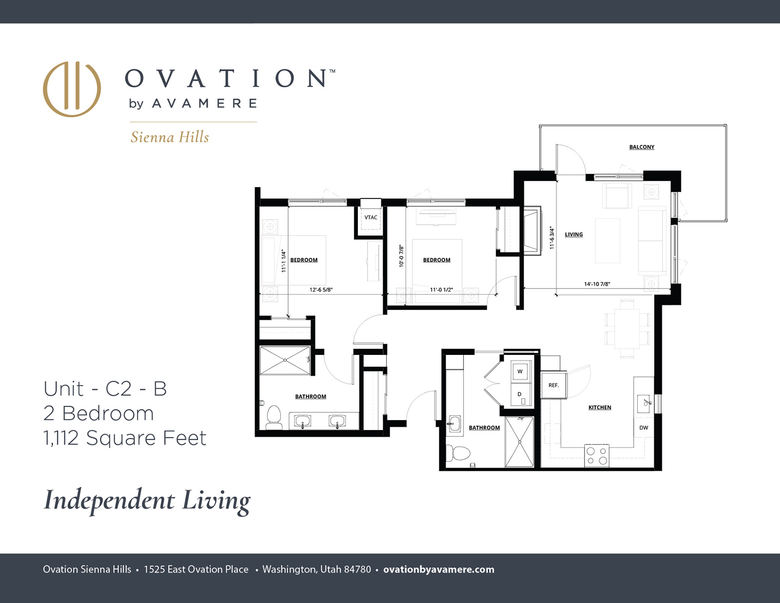 Independent Living | Two Bedroom
