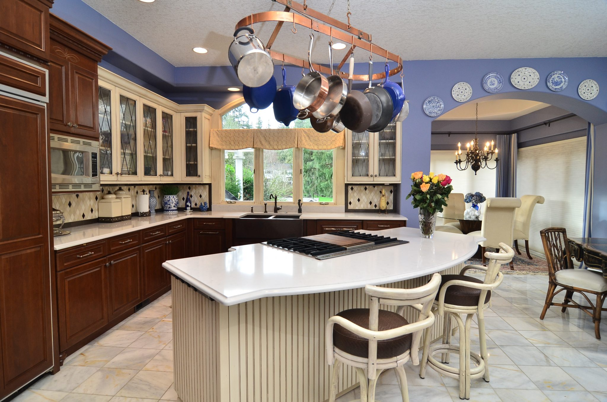 Kitchen layout island Ovation Design-Build