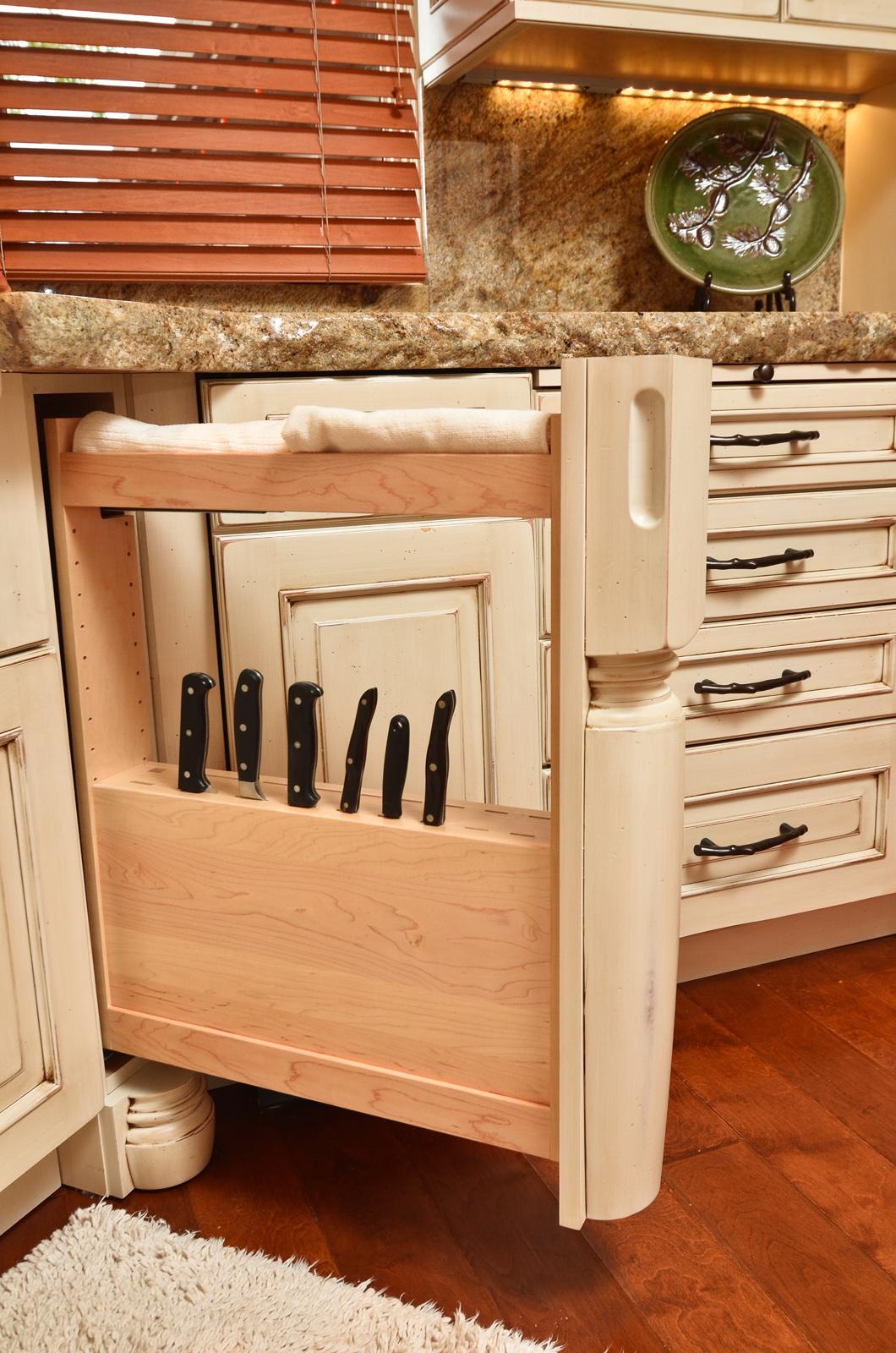 kitchen customization, Ovation Design-Build custom drawers