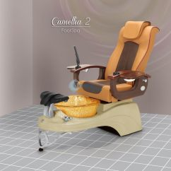 Pedicure Chair Accessories Re Caning A Free Nail Table With Camellia Spa