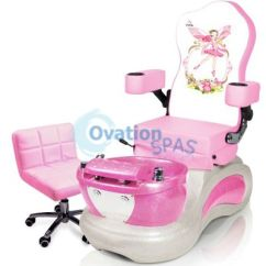 Child Pedicure Chair Jazzy Power Used Princess Kid Spa Chairs Spas