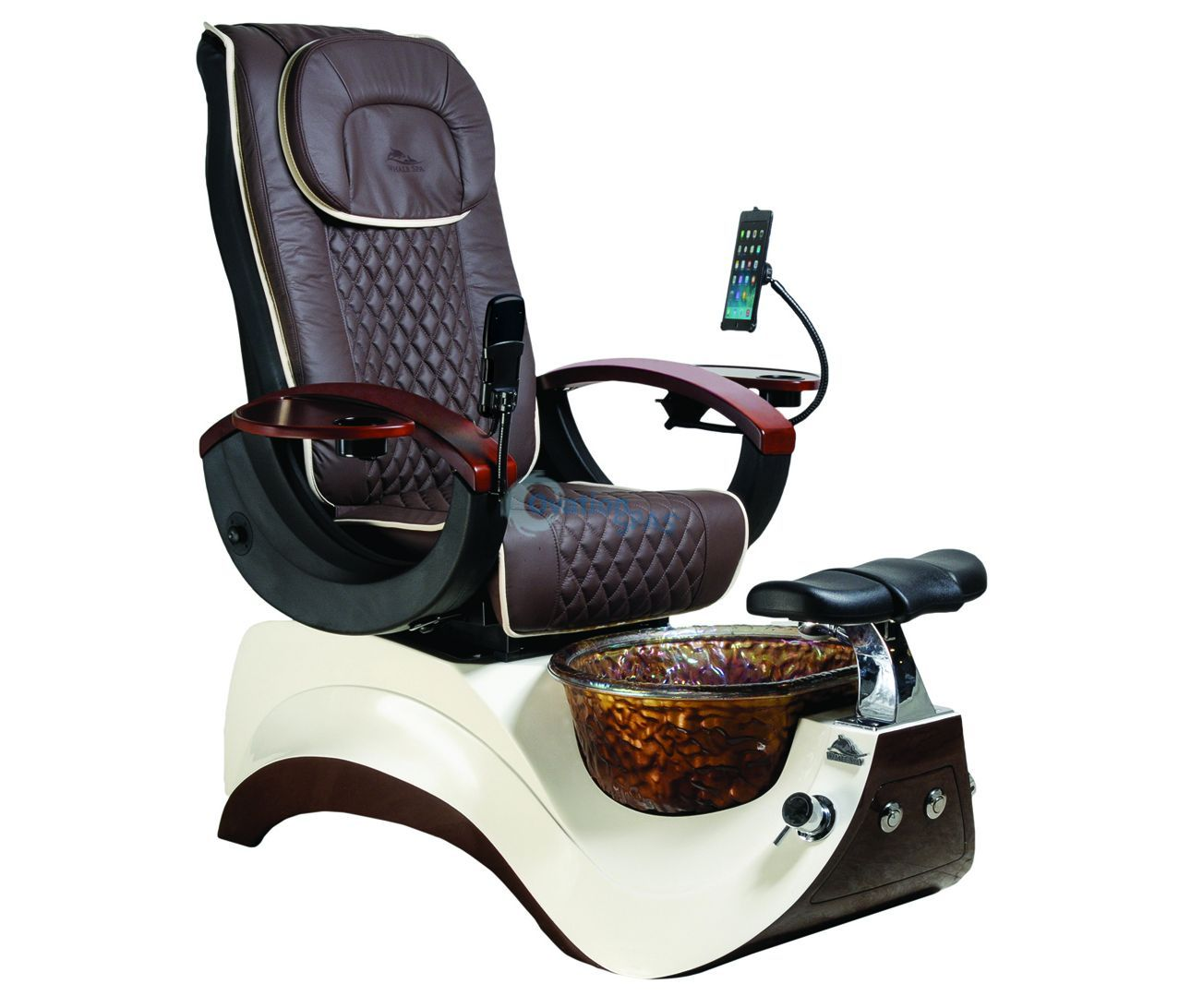 Pedicure Chair Alden Crystal Pedicure Chair