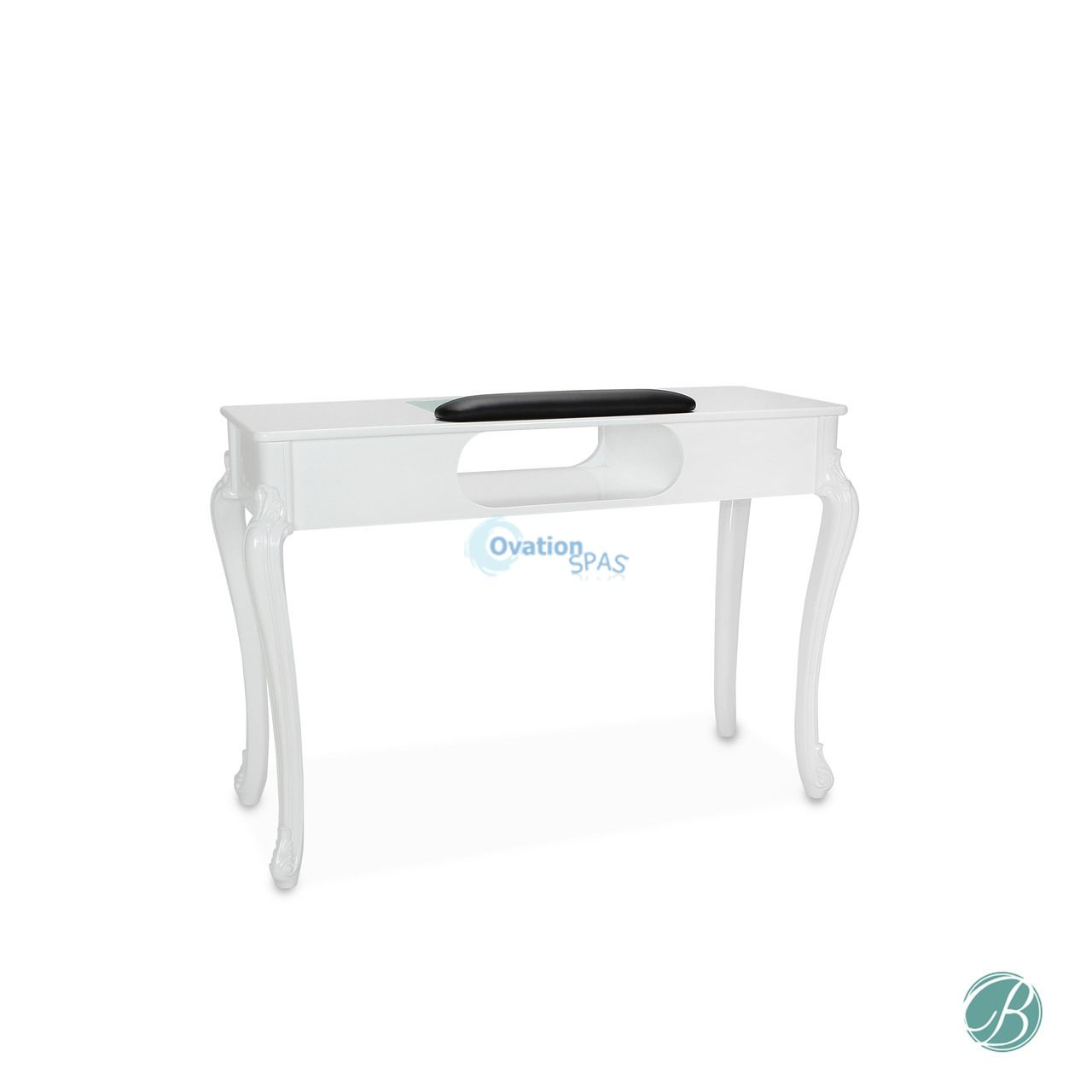 Contemporary Fiona Manicure Table White Color