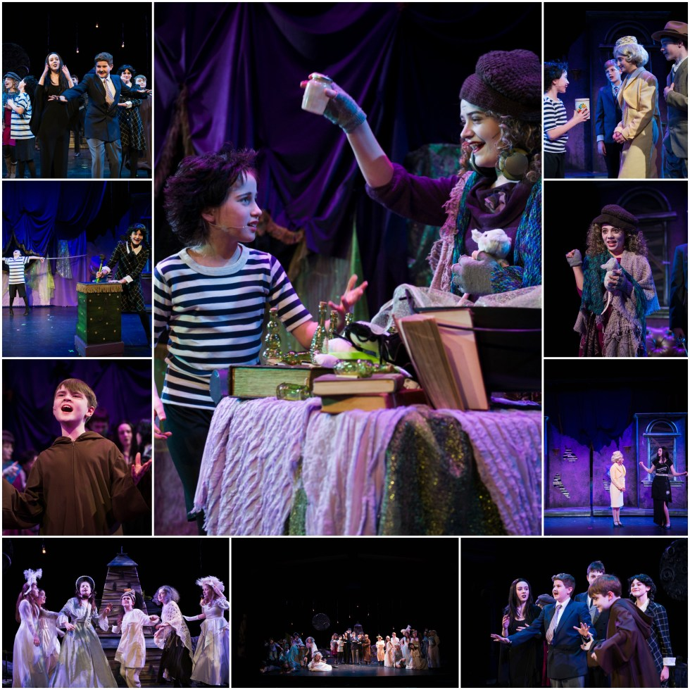 addams family collage