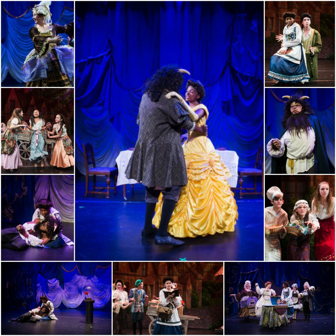 beauty and the beast jr Collage