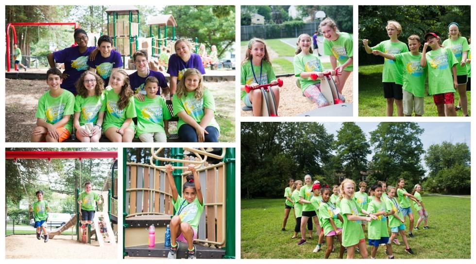 summer camp 18 collage
