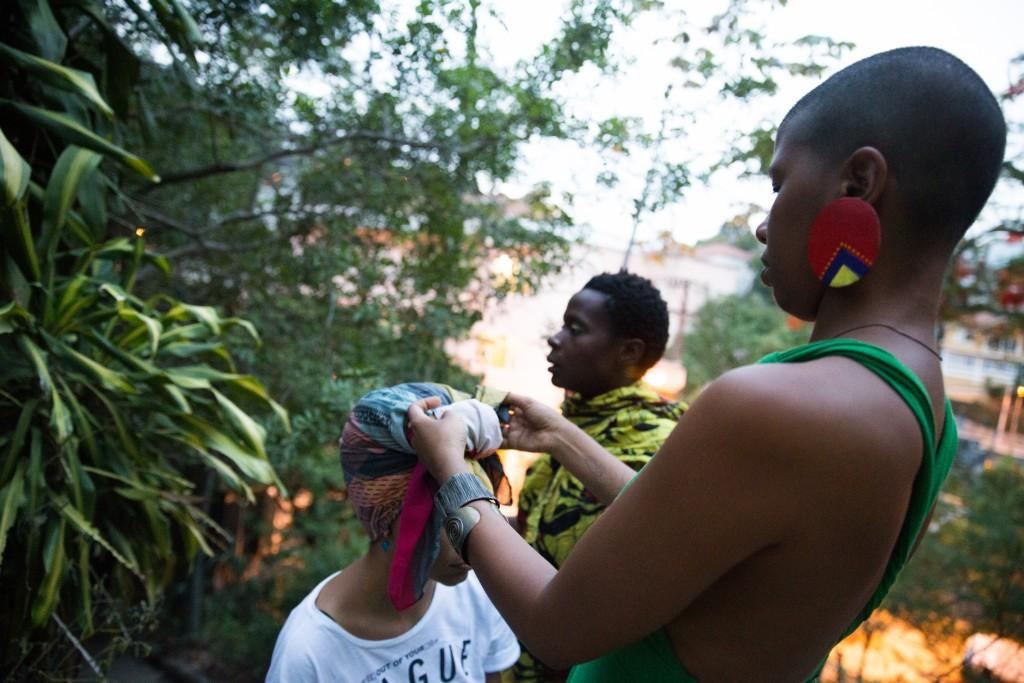 Kbela, o filme   Foto: Alile Dara Onawale. Turbante: Sol.