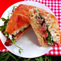 a serious sandwich