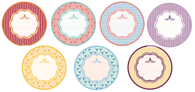 decorative mason jar labels - get these free printables and more from www.limeshot.com