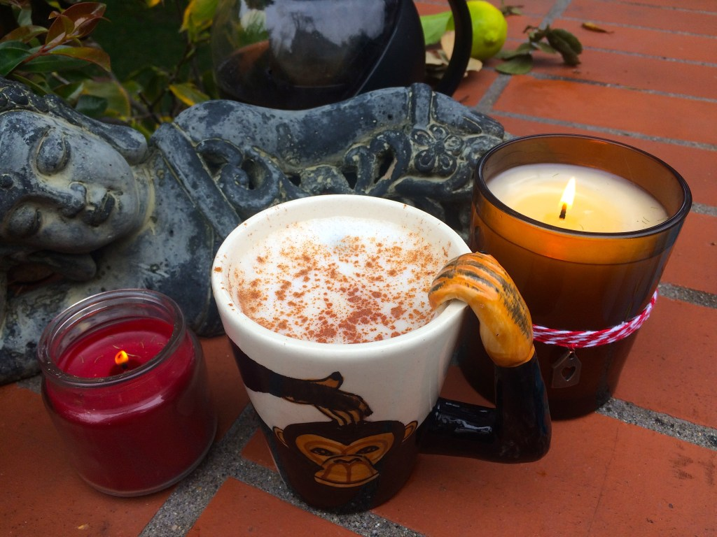 Spicy Light Chai Tea Latte, hits the spot on a chilly day