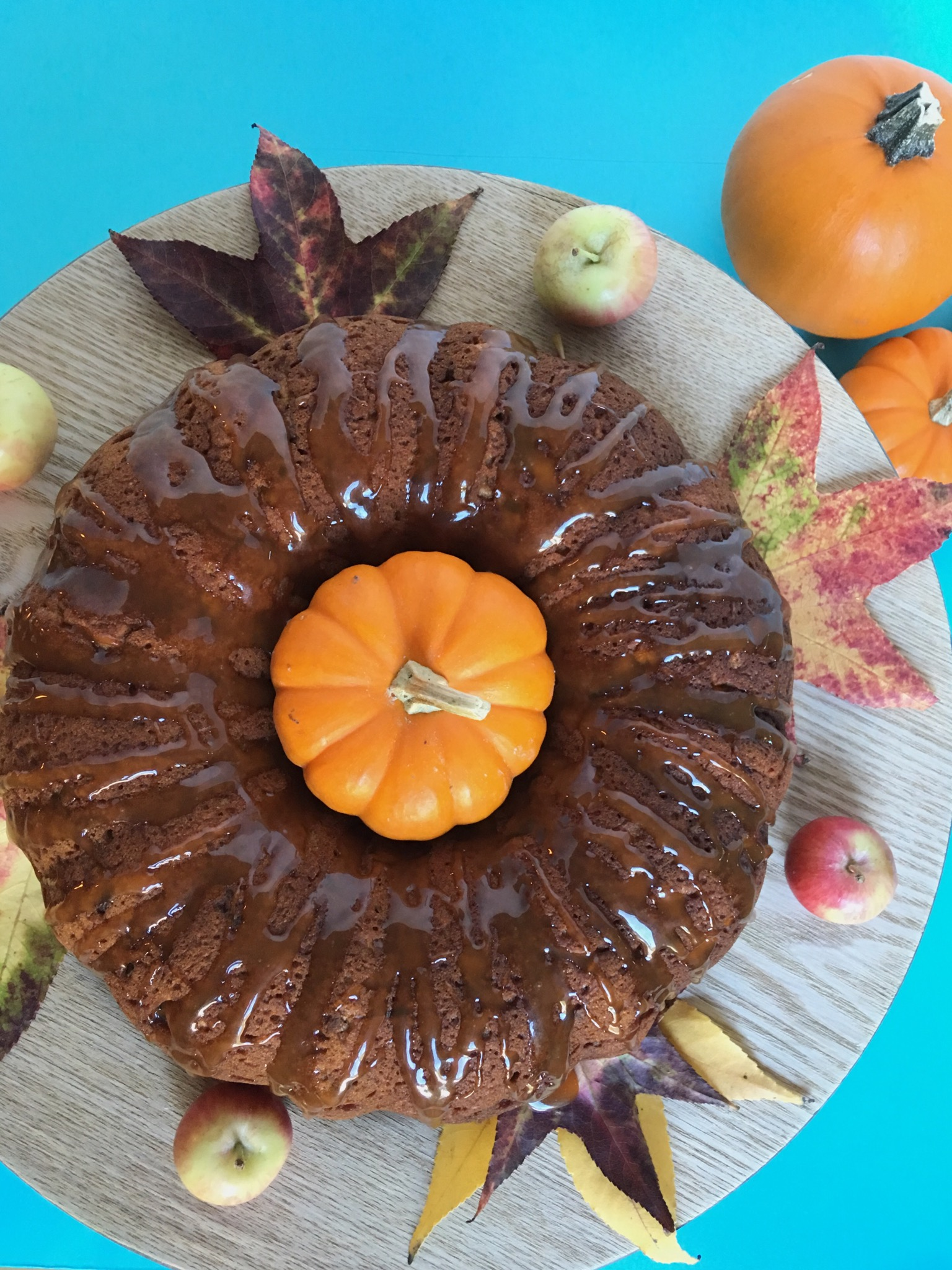 pumpkin, bundt, cake, healthy, snack, dessert, spice, fall