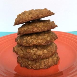 Ava's Brown Sugar Cinnamon Oatmeal Cookies