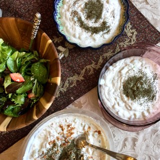 Persian Cucumber Yogurt Dip Mast-O-Khiar