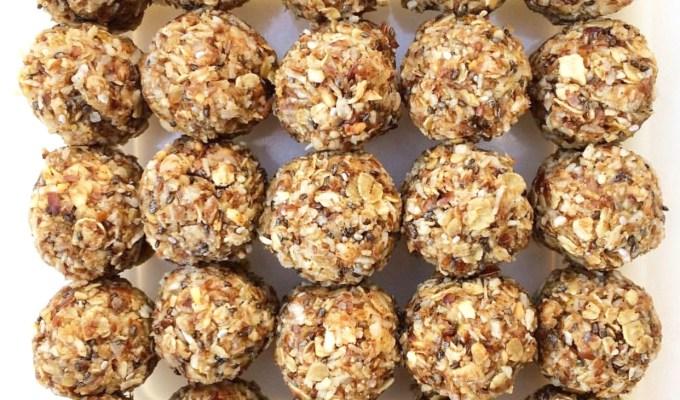 Miss Shobha's Tasty Raw Fruit and Nut Balls