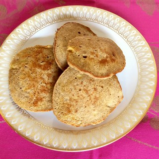 Jamaican Banana Fritter Pancakes