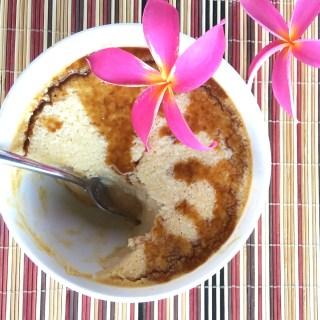 Hula Hug Baked Coconut Cream Caramel Flan