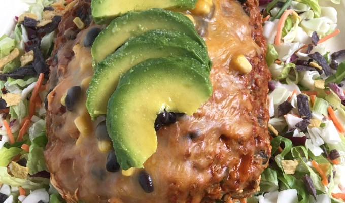 Santa Fe Crockpot Turkey Meatloaf