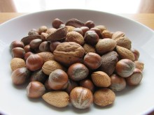 nuts in a bowl