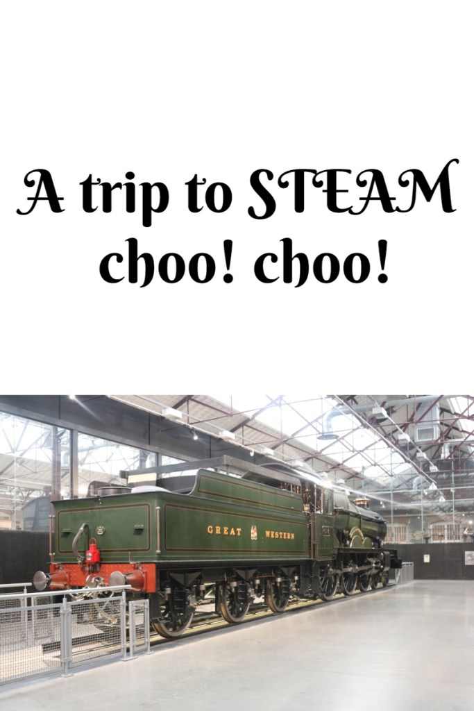 A trip to STEAM - choo! choo!