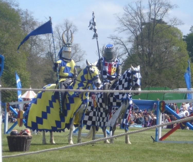 Knights at Blenheim Palace