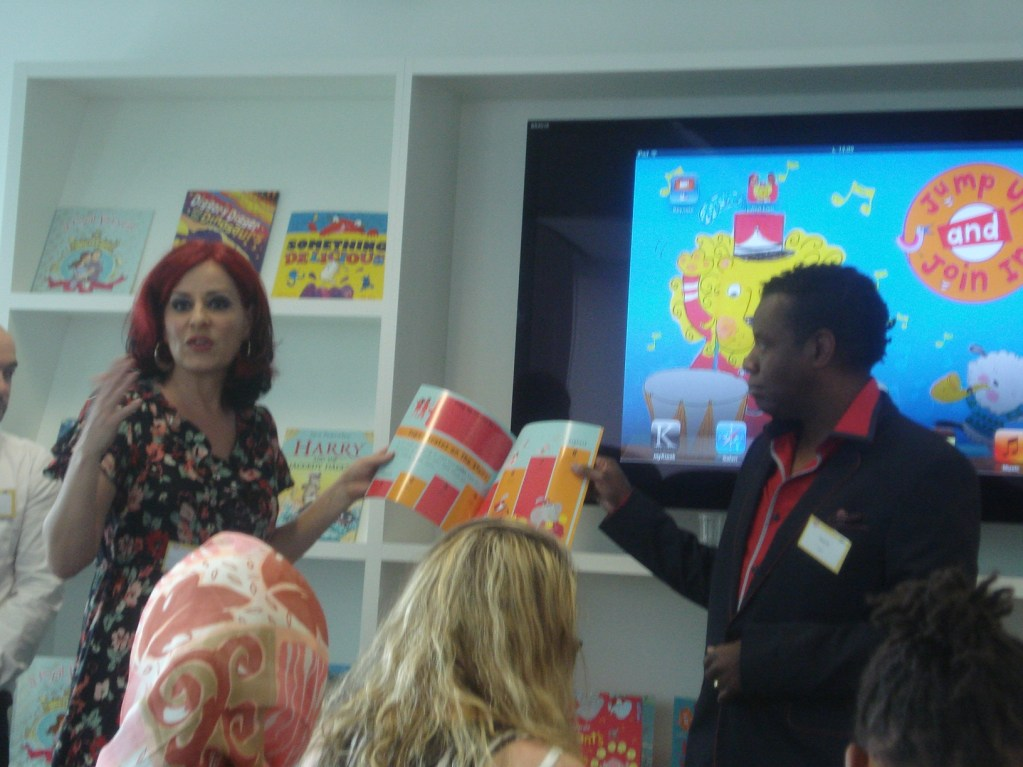 www.over40andamumtoone.com Meeting Carrie and David Grant