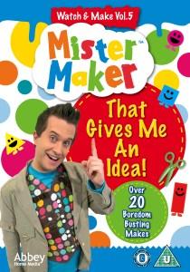 Mister Maker, Mister Maker: That Gives me an Idea! DVD