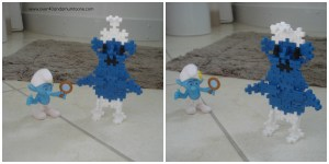 #TTPlusPlus Smurf 2, The Toadstool, Over 40 and a Mum to One, Plus Plus Mini Basic 250