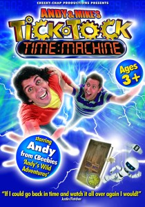 Andy & Mike POS, Andy & Mike's… Tick Tock Time Machine Tours into the Future!
