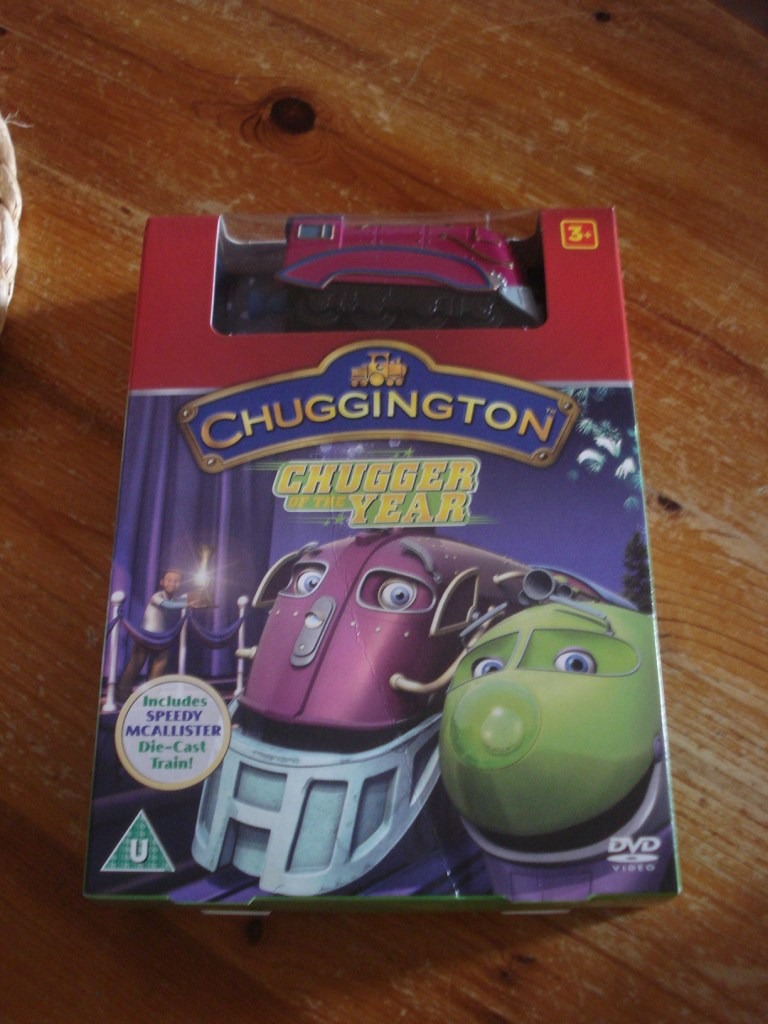 Chugger of the Year DVD, Chuggington