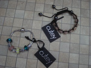 Cutey bracelets, Jewellery, review, A Bracelet review for cutey