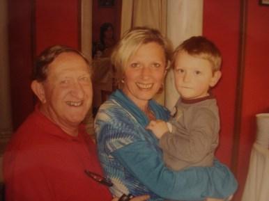 Gramps,Mummy and Monkey