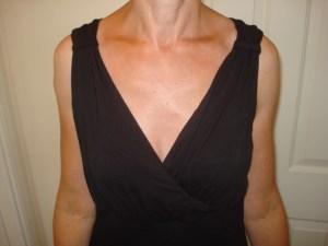 A new black dress from Damart
