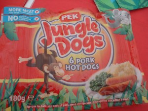 Jungle Dogs - healthy hotdogs, my jungle dog monkey
