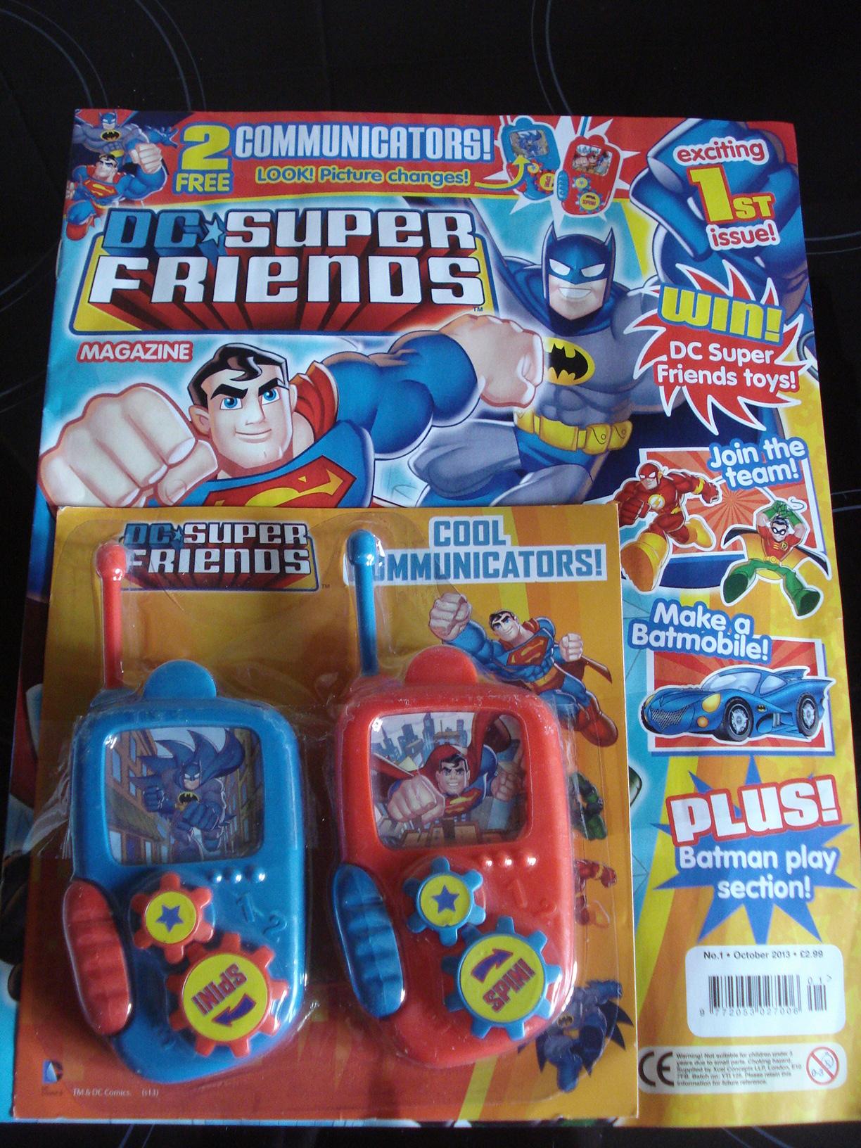 DC Super Friends Magazine Over 40 and a Mum to e